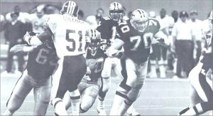 1986 New Orleans Saints Offense vs Washington