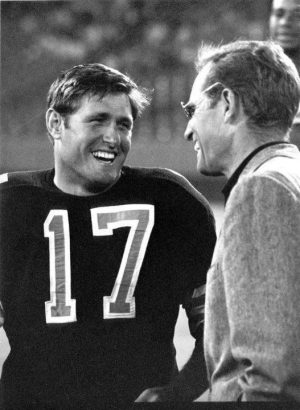 New Orleans Saints Quarterback Billy Kilmer