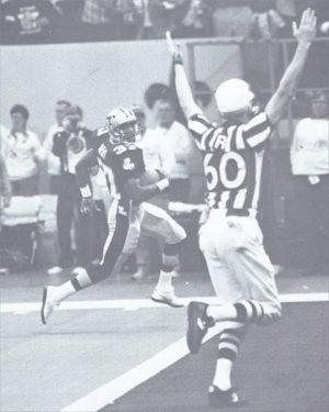 Mel Gray 66 Yard Punt Return TD