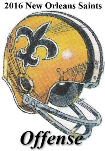 2016 new orleans saints offense icon
