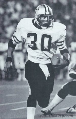 Saints Running back Wayne Wilson in 1984