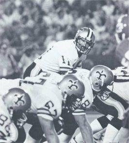 New Orleans Saints Quarterback Richard Todd