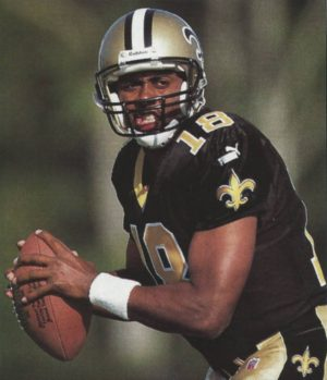 New Orleans Saints quarterback Jeff Blake in 2000