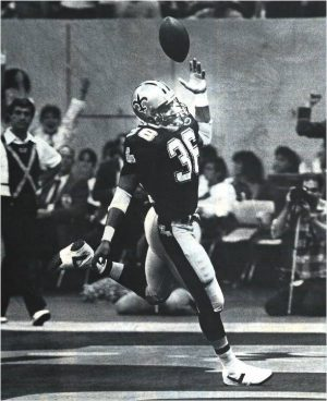Reuben Mayes Scores Against the 49ers in 1986