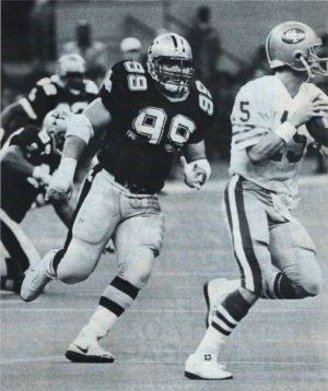 Tony Elliott 1986 NO Saints