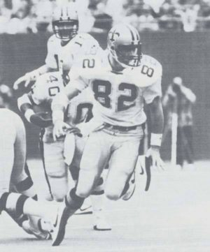 John Tice of the New Orleans Saints, 1983-1992