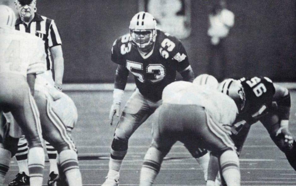 The Saints Vaughan Johnson in 1987