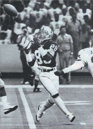 Wes Chandler in 1979 Against the Falcons