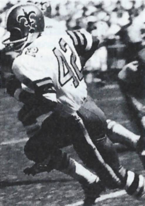 John Gilliam Saints Rookie in 1967