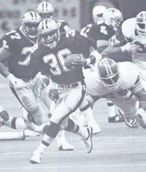 Reuben Mayes Big Run Against Denver | 1988 New Orleans Saints