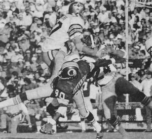 Tommy Myers and Clarence Chapman | New Orleans Saints 1973