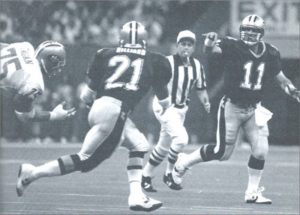 1990 New Orleans Saints- John Fourcade passes to Dalton Hilliard