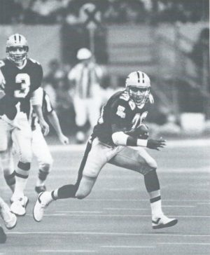 Reuben Mayes, 1987 Saints versus Browns
