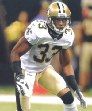 Saints Defender Jabari Greer in 2009
