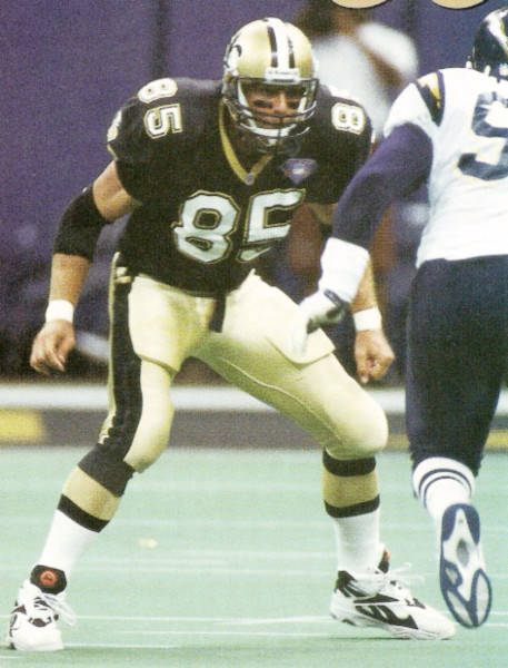 New Orleans Saints Free Agent Wesley Walls