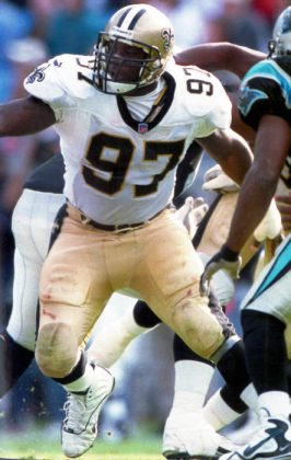 New Orleans Saints All Pro La'Roi Glover 1997-2001