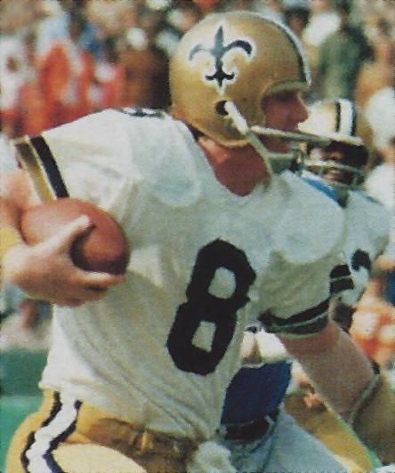 Saints Quarterback Archie Manning