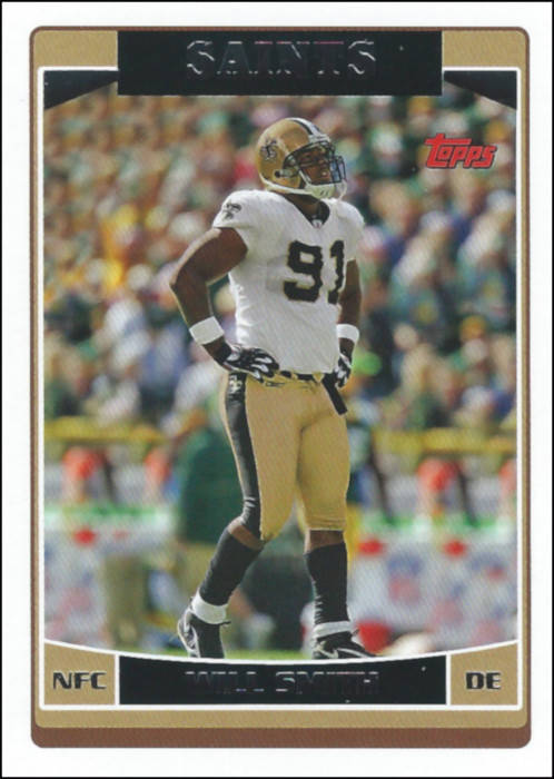 Will Smith 2006 Topps Card