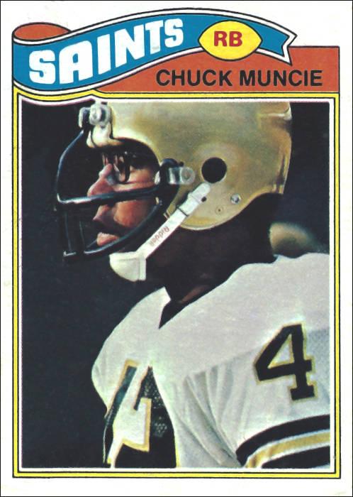 Chuck Muncie 1977 Topps Card