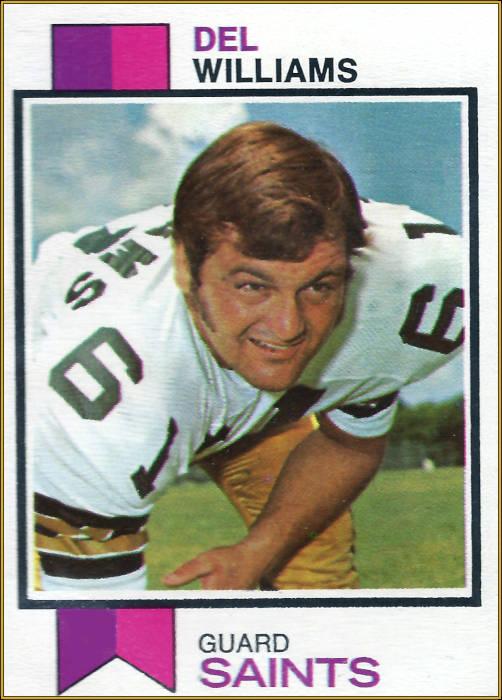 Del Williams, 1973 Topps Card