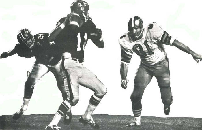 Doug Atkins 1967 New Orleans Saints