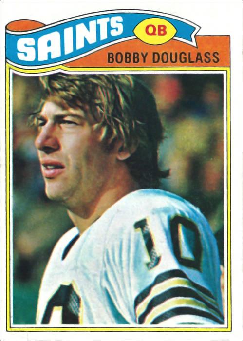 Bobby Douglass 1977 New Orleans Saints Topps Card