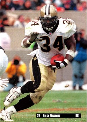 Ricky Williams 2001 New Orleans Saints