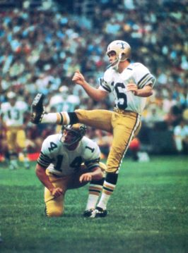Charlie Durkee 1968 New Orleans Saints