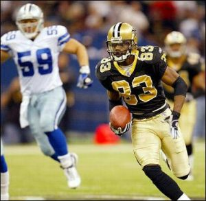 Donte Stallworth 2003 New Orleans Saints