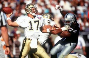 Saints Quarterback Jim Everett 1994-1996