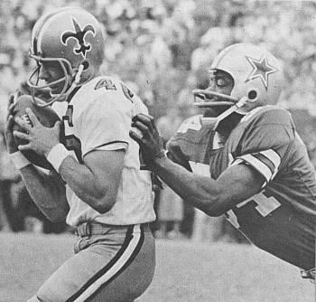 Danny Abramowicz Saints Receiver   1967-1972
