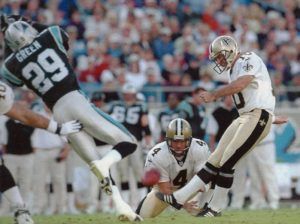 Doug Brien, New Orleans Saints Kicker 1995-2000