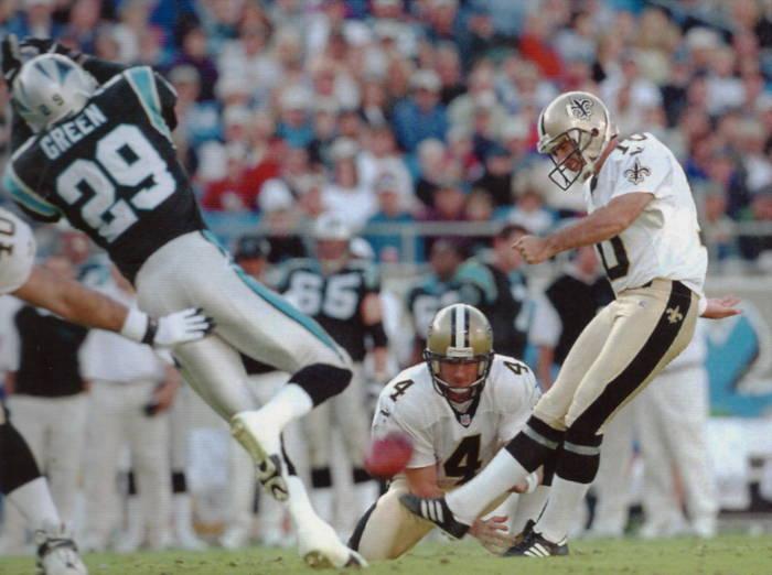 Doug Brien Saints Kicker   1995 to 2000