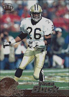 Vince Buck New Orleans Saints 1996 Pacific Crown Collection
