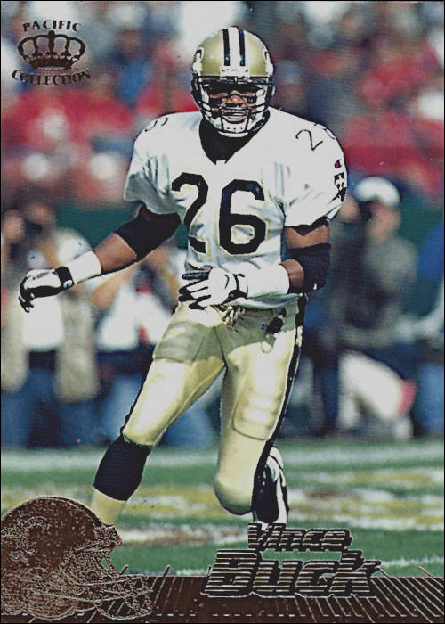 Vince Buck New Orleans Saints 1996 Pacific Crown Collection