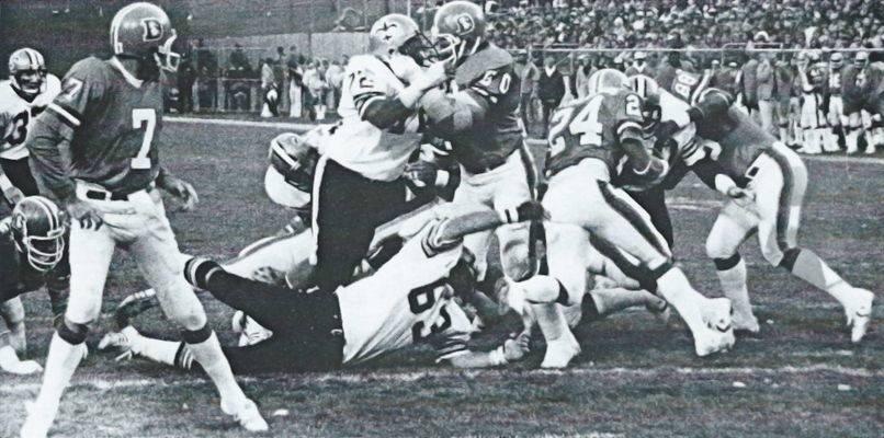 1979 New Orleans Saints Defense Stop Denver Broncos Offense