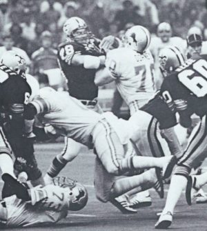 Elois Grooms New-Orleans Saints versus the Detroit Lion in 1979