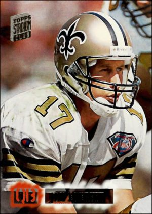 Jim Everett 1994 New Orleans Saints Topps Stadium Card