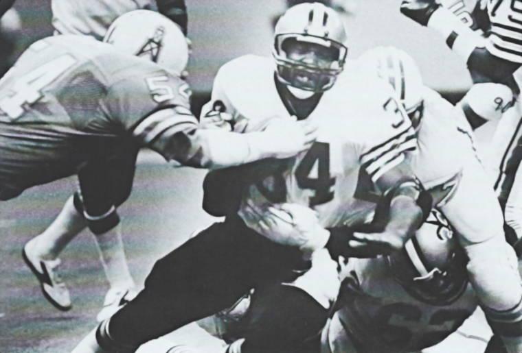 Tony Galbreath - 1981 New Orleans Saints versus Houston Oilers Preseason Game