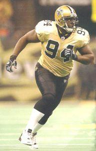 Defensive End Charles Grant - 2003 New Orleans Saints