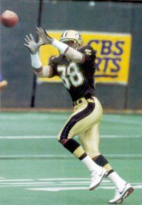 Floyd Turner, New Orleans Saints Wide Receiver in 1992