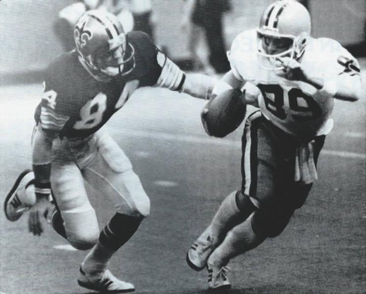 Rich Mauti   1978 New Orleans Saints