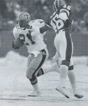 1989 Dalton Hilliard Saints versus Bills