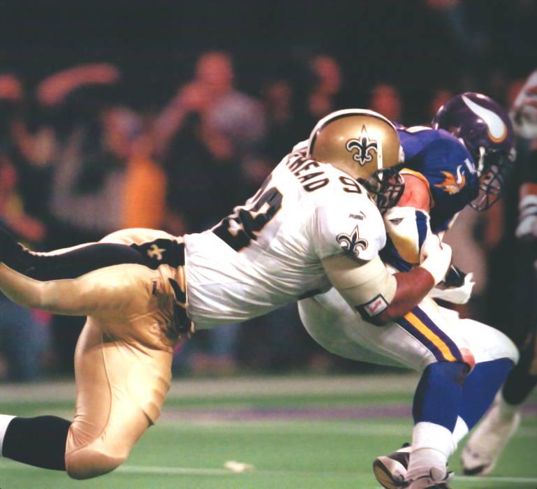 Willie Whitehead New Orleans Saints 2000 Playoffs