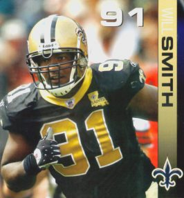 Will Smith 2006 New Orleans Saints Defense