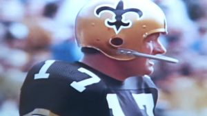 The New Orleans Saints fiery quarterback - Billy Kilmer