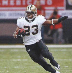New Orleans Saints Runningback Pierre Thomas