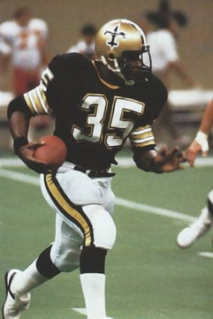 Earl Campbell New Orleans Saints