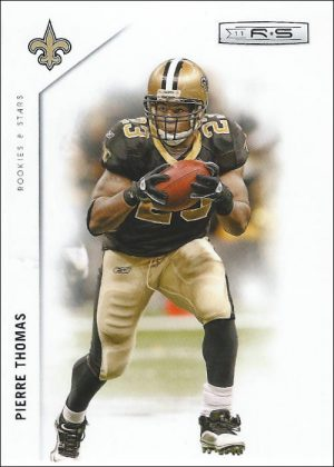Pierre Thomas 2011 New Orleans Saints Panini Rookies and Stars NFL Trading Card