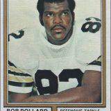 Bob Pollard 1974 New Orleans Saints Topps Football Card